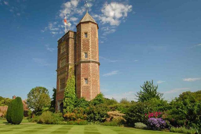 Spending the holiday in UK! The tower, Sissinghurst Castle, Kent, UK