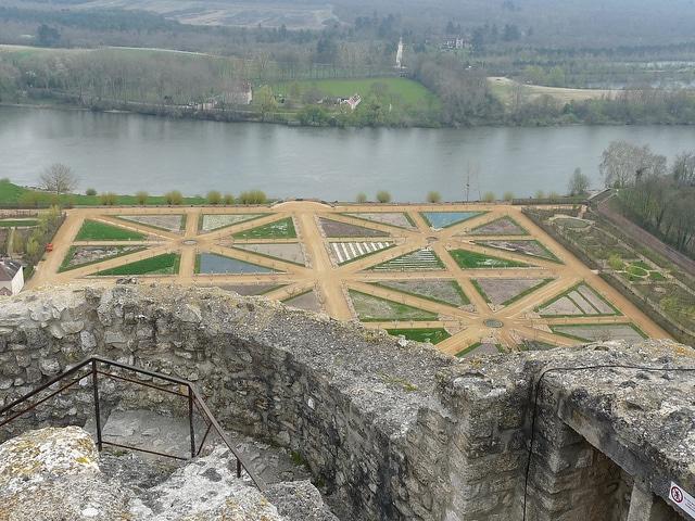 View from Château de La Roche Guyon