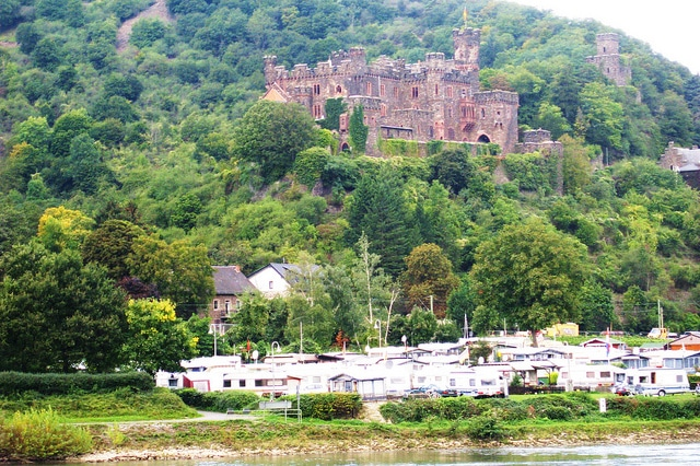 Beautiful Castles during the cruise