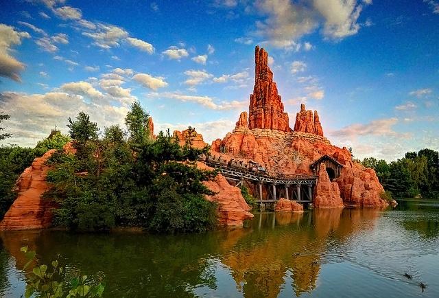 Big Thunder Mountain, Disneyland Paris