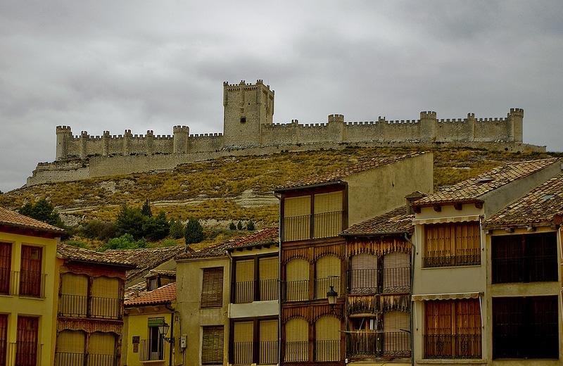 Famous Castles In Spain Castillo De Penafiel In