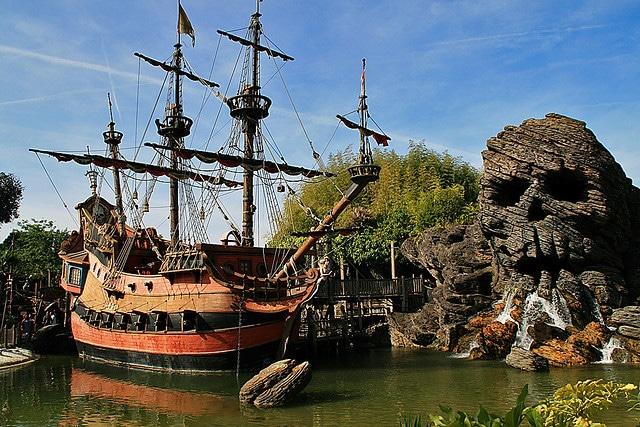 Disneyland Paris - Pirate Cove