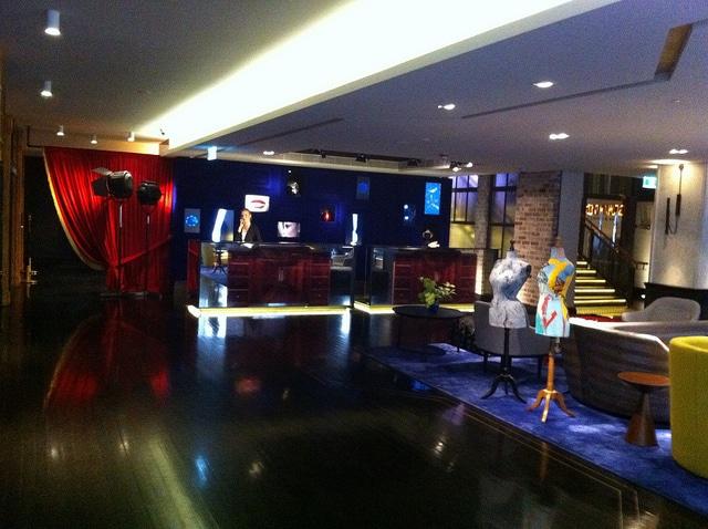 QT, Sydney Lobby