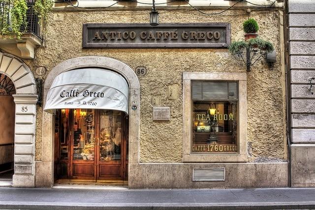 Antico Caffè Greco, Rome