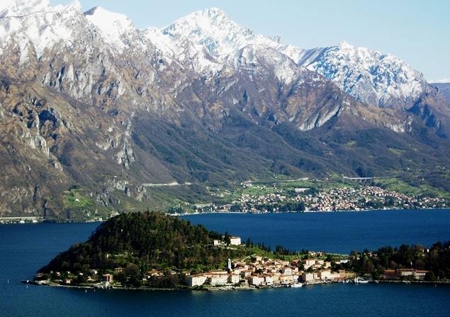 Lake Como and the Alps