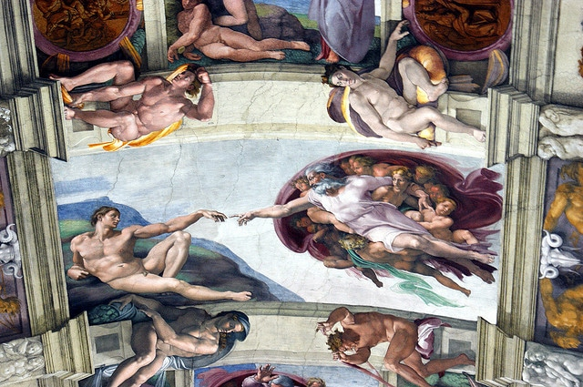 One of Michelangelo's most famous frescoes