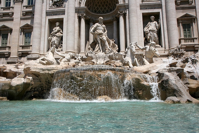 Magnificent fountain