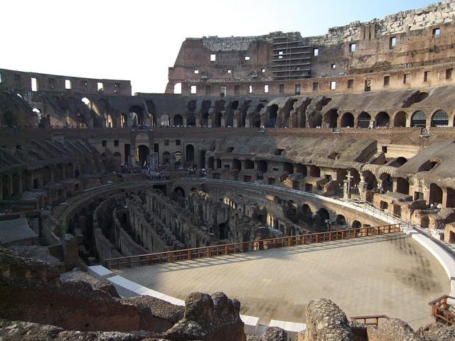 Enter the Colosseum