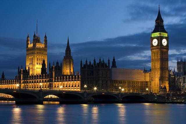 Big Ben by night