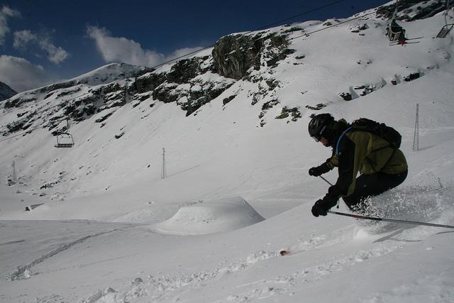 Monterosa slopes