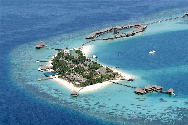 The beautiful Huvafen Fushi