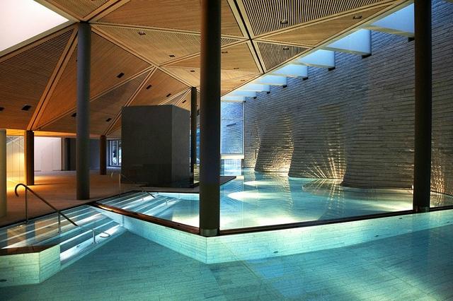 Tschuggen Grand Hotel relaxing spa