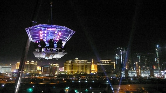 Dinner in the Sky, Las Vegas