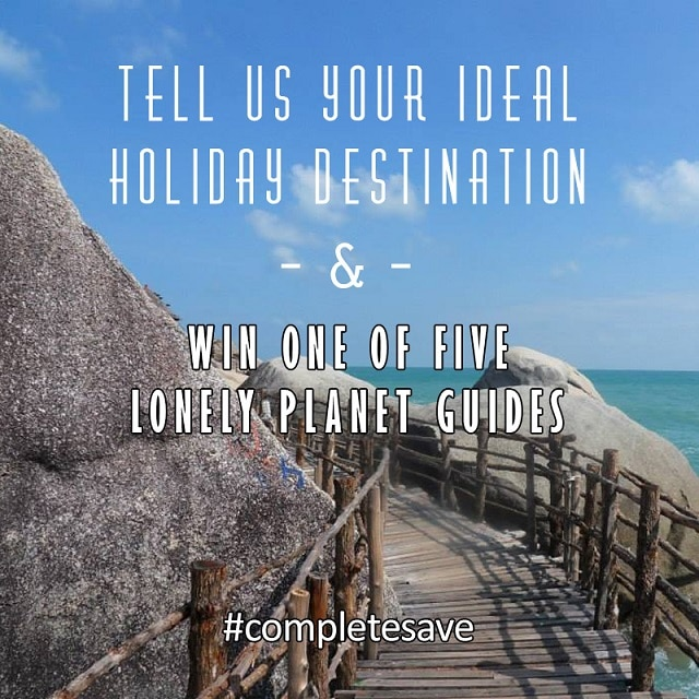 CompleteSave Travel Lonely Planet Competition