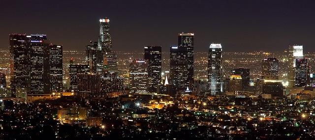 L.A skyline
