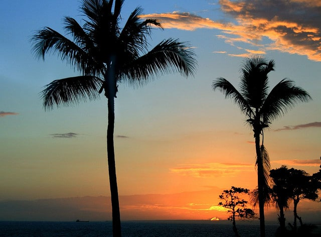 Sunset In Santo Domingo