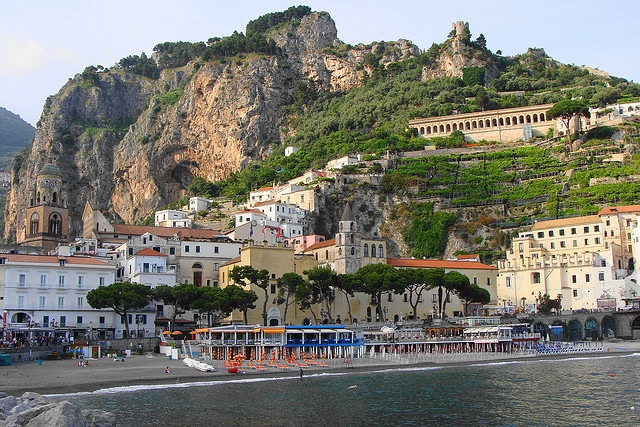Amalfi from the sea