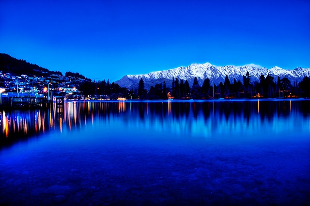 New Zealand at the Blue Hour