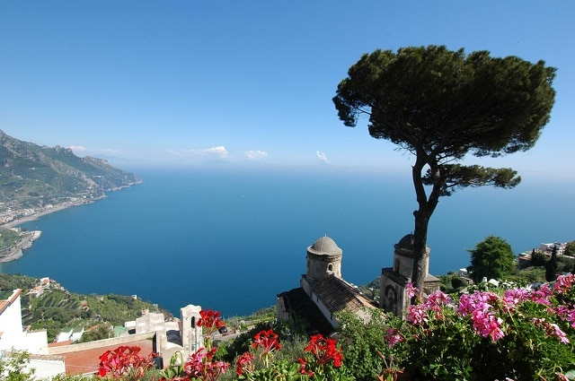 Ravello - View from the gardens of the Villa Ruffolo