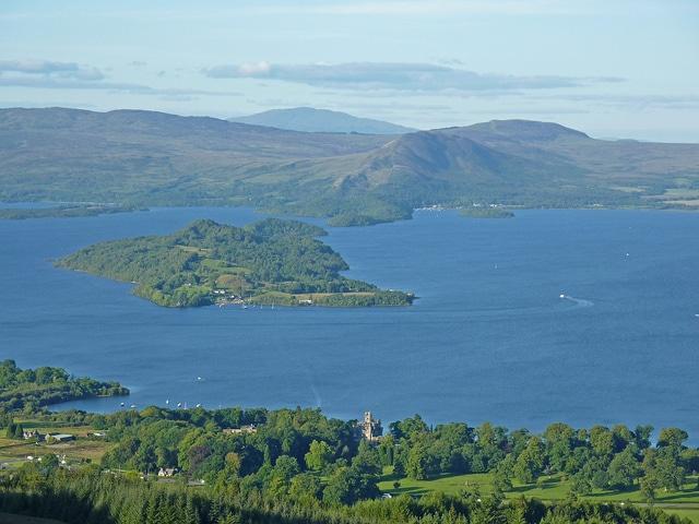 Highland Boundary Fault, Loch Lomond