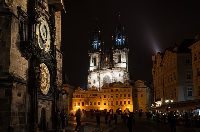 Old Town Square and Astronomical Clock