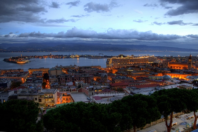 Messina's port