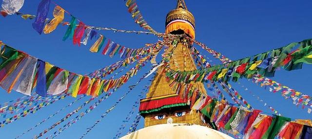 Boudhanath's stupa