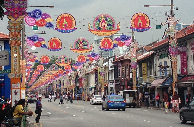 Little India streets