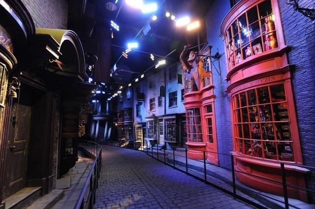 Part of the Harry Potter studio tour
