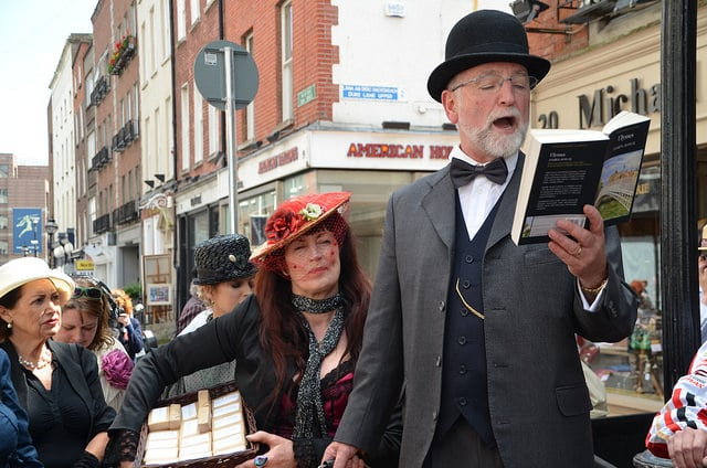Everybody reads Ulysses in the Bloomsday