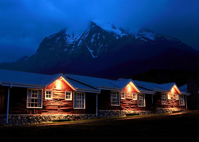 Hotels like Las Torres in Chile aren't so easily found!