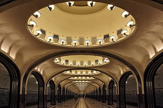 Moscow's subway (line 1)