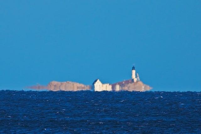White Island mirage