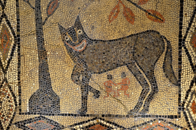 Mosaic at Leeds City Museum