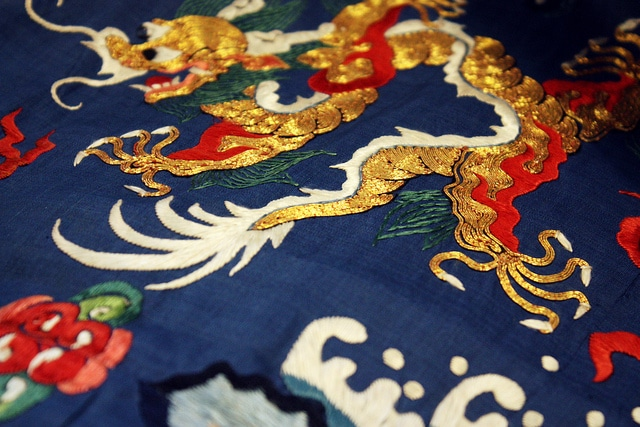 Traditional Chinese Garment Embroidery