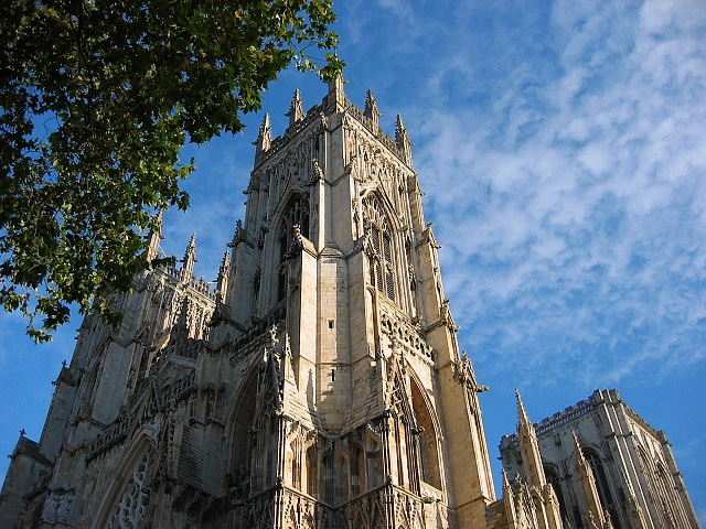 A section of York Minster