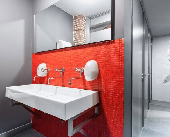 Communal bathrooms