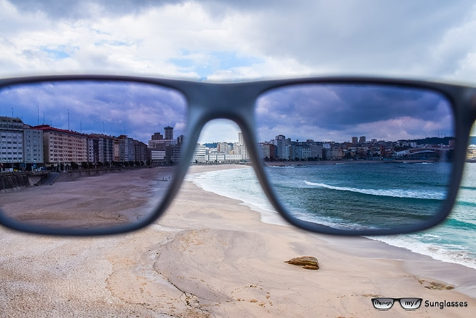 Orzán Beach in La Coruña, Galicia, Spain!