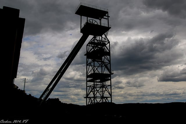 Time to down to the mine