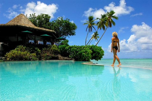 Pacific Resort pool