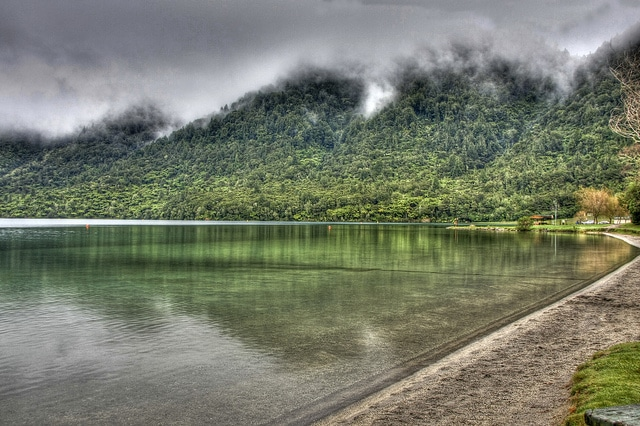 Blue Lake - New Zealand