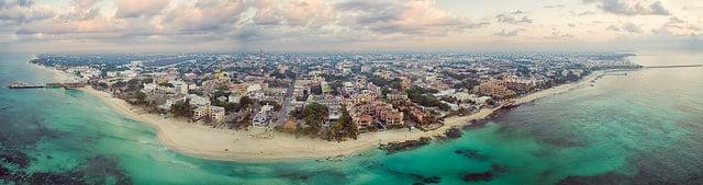 Playa del Carmen Panoramic