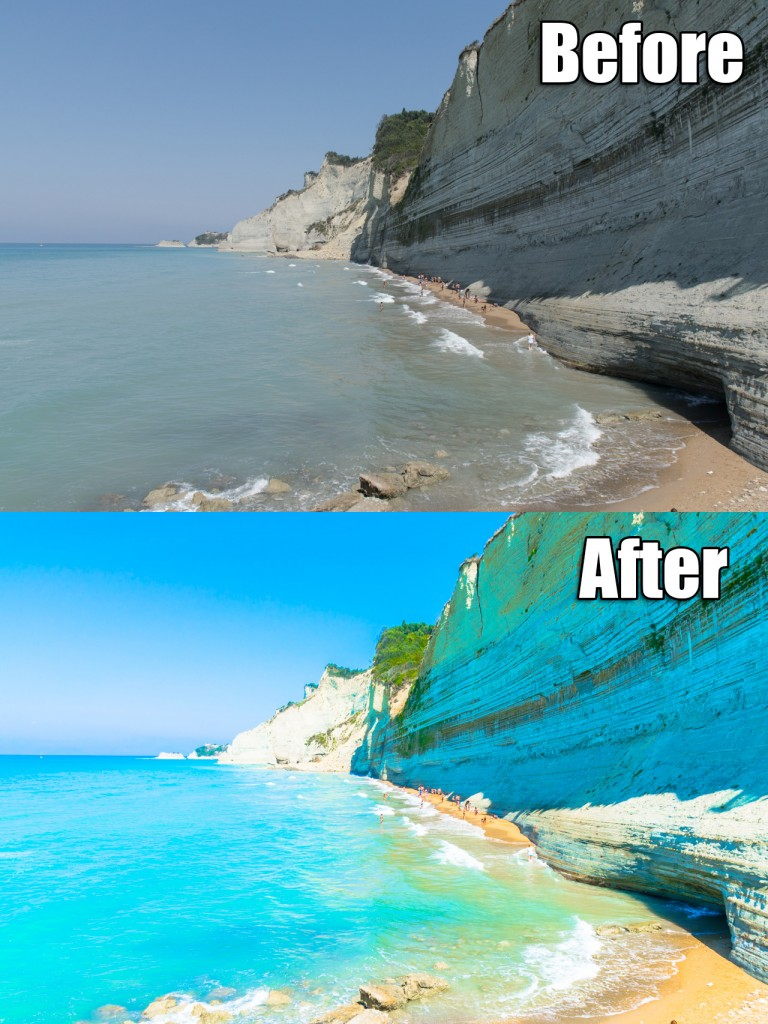 Logas beach, Corfu, Greece