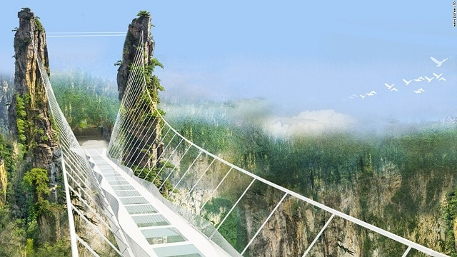 Zhangjiajie Glass Bridge Concept