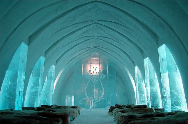 Ice-Hotel in Sweden