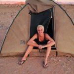 Heather in Botswana