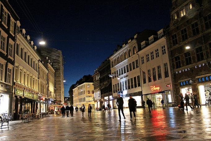 Strøget in Copenhagen