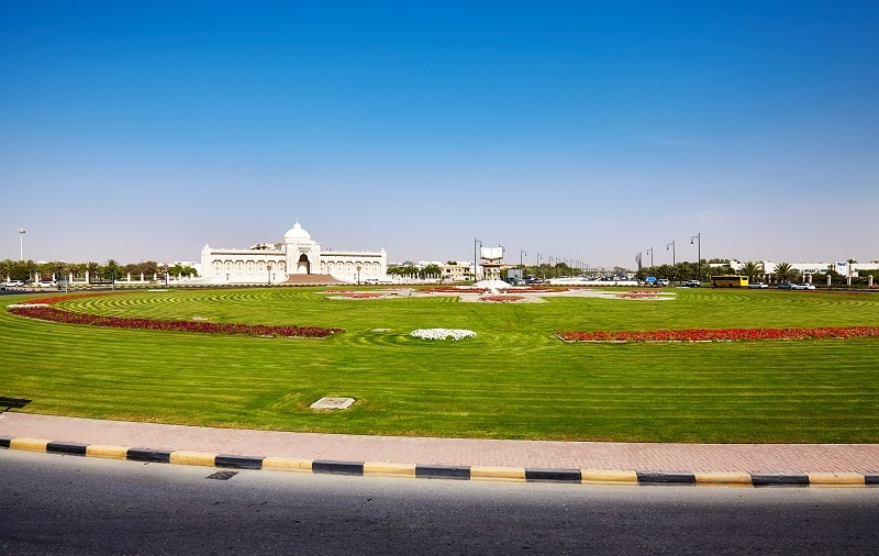 Cultural Square in Sharjah, United Arab Emirates