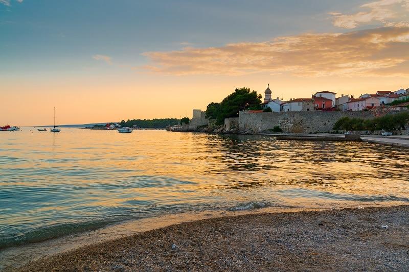 Krk Town , Croatia