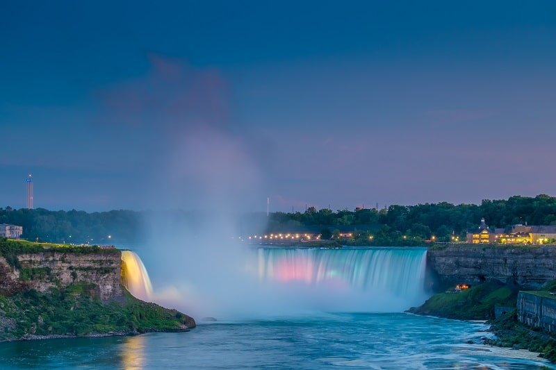 Niagara Twilight